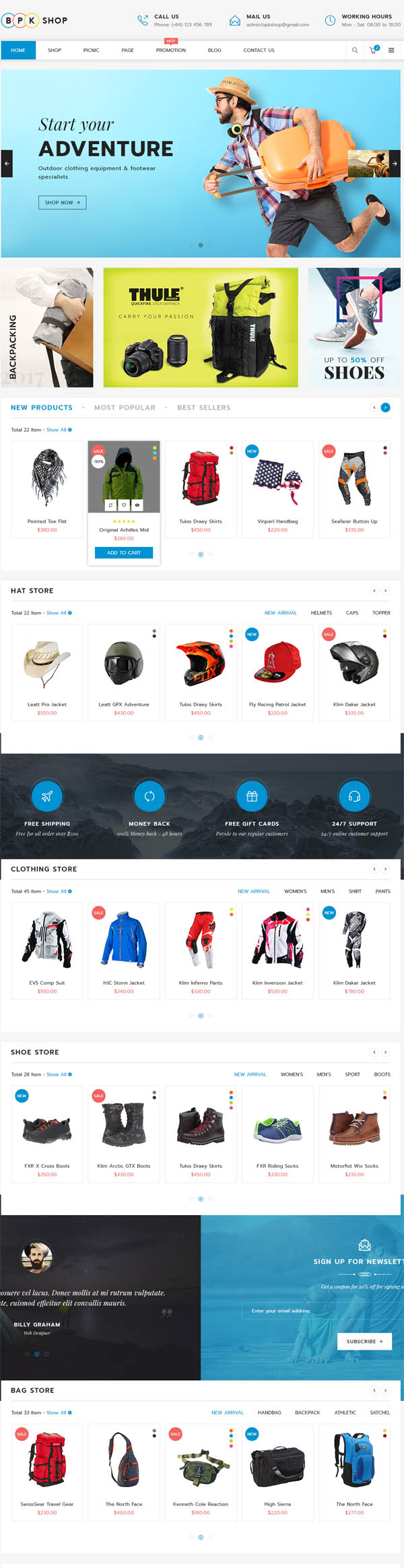 BPK Shop : WooCommerce Responsive Theme