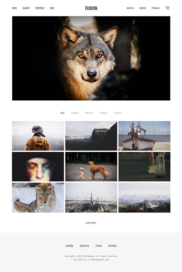 50 Best Photography WordPress Themes | Wordpress Themes | Graphic ...
