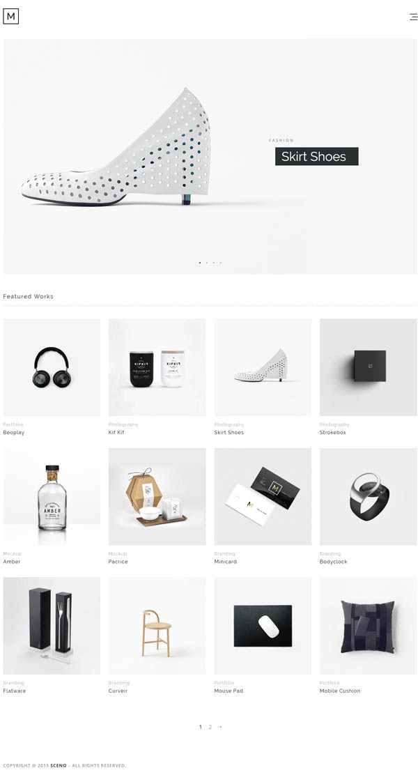 Minilio : Minimalist Multi-Purpose WordPress Theme