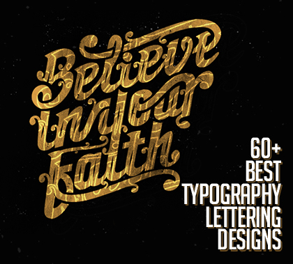 60+ Best Typography Designs For Your Inspiration
