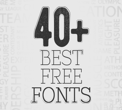 Post thumbnail of 40+ Best Free Fonts Download