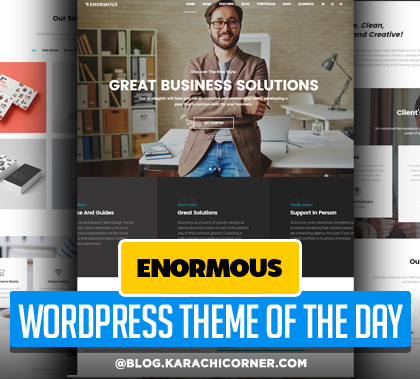 Enormous – Responsive Multi-Purpose WordPress Theme