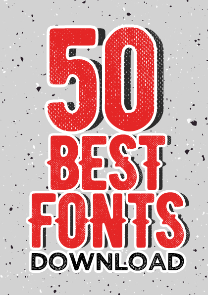 Post thumbnail of Download 50 Best Retro / Vintage Fonts