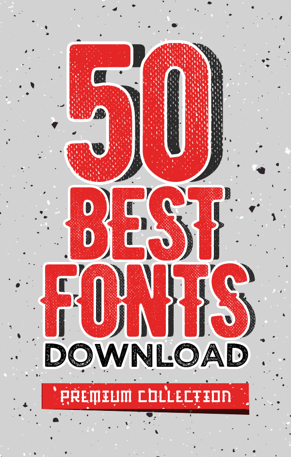 Best 50 Retro and Vintage Fonts