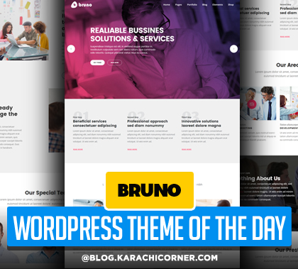 Bruno – Creative Multi Purpose WordPress Theme