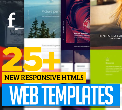 25+ Responsive HTML5 Web Templates for Your Next Website