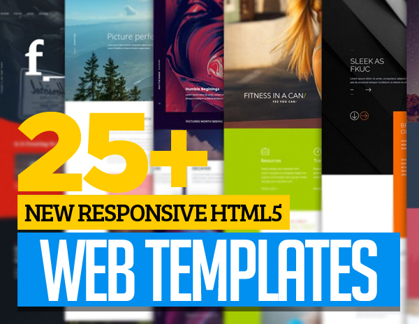Responsive HTML5 Web Templates