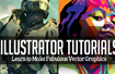 20 Illustrator Tutorials – Learn to Make Fabulous Vector Graphics