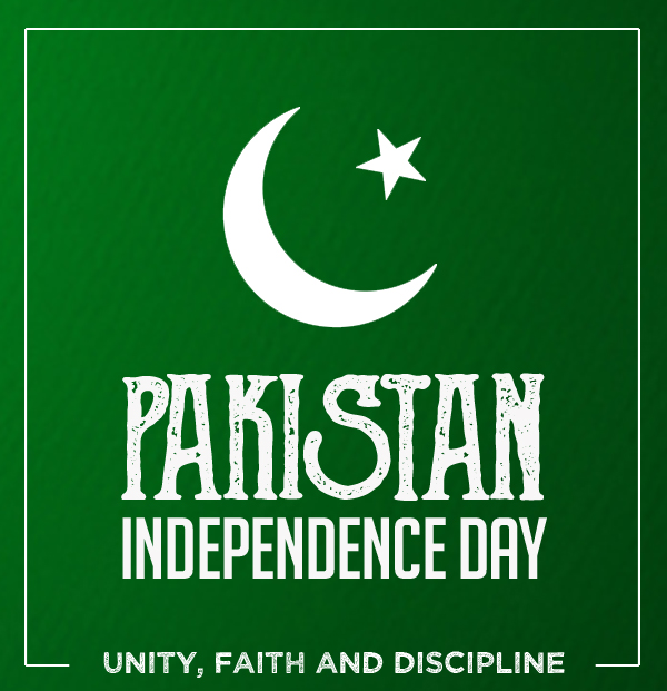 Pakistan – Celebrating 70th Year of Independence Day (14 August 2017)