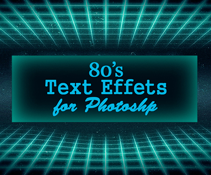 Classic Style 80's Text Effects Download PSD