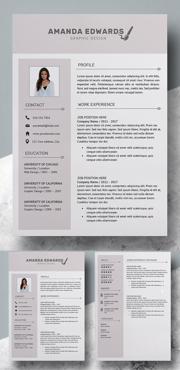 Resume Template Amanda Edwards
