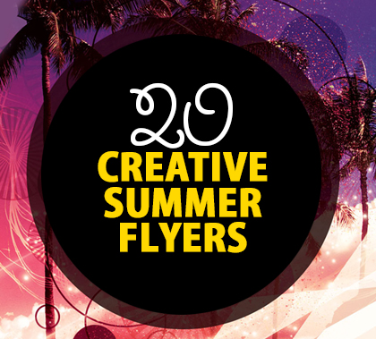 Post thumbnail of 20 Creative Summer Flyers / Poster Designs