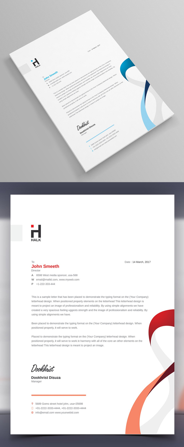 Best corporate stationery design templates graphics design letterhead template accmission Image collections