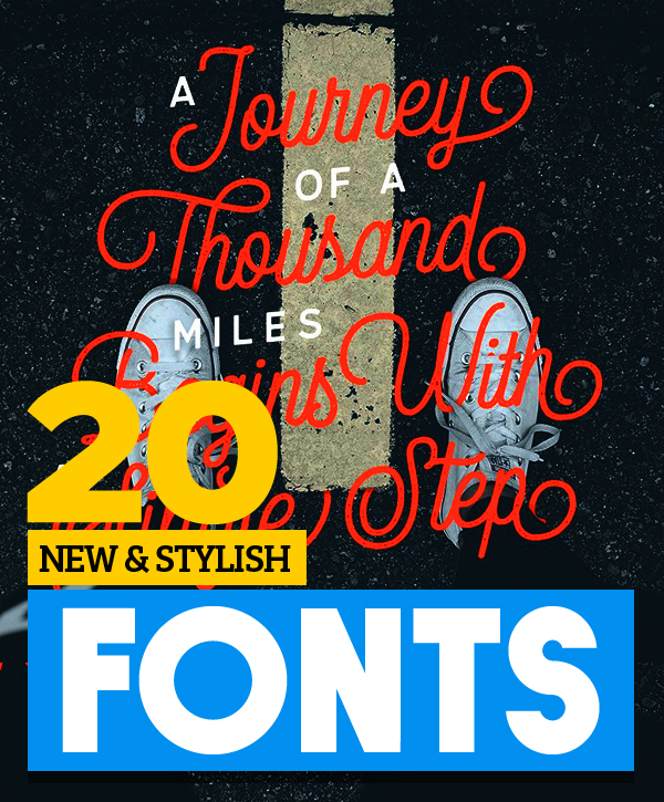 New & Stylish Vintage Script Fonts for Designers