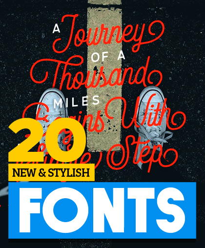 Post thumbnail of New & Stylish Vintage Script Fonts for Designers