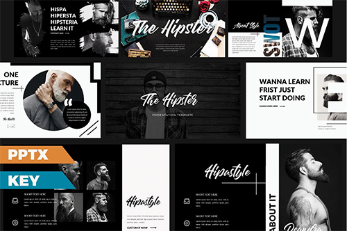The Hipster Presentation Templates
