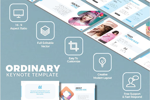 Ordinary Presentation Templates