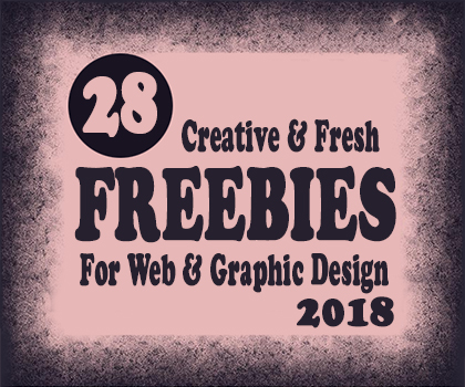 Download Creative Freebies For Web & Graphic Design : 28 Resources