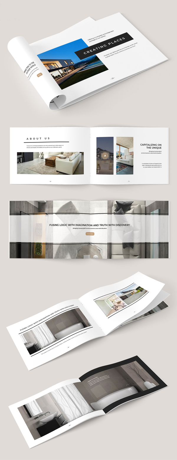 100 Professional Corporate Brochure Templates - 53