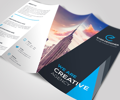 Post thumbnail of 15 Clean & Professional Business Brochure Templates
