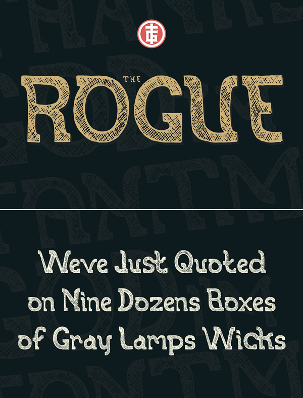 The Rogue Font
