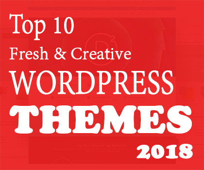 Creative Multipurpose WordPress Themes (2018)