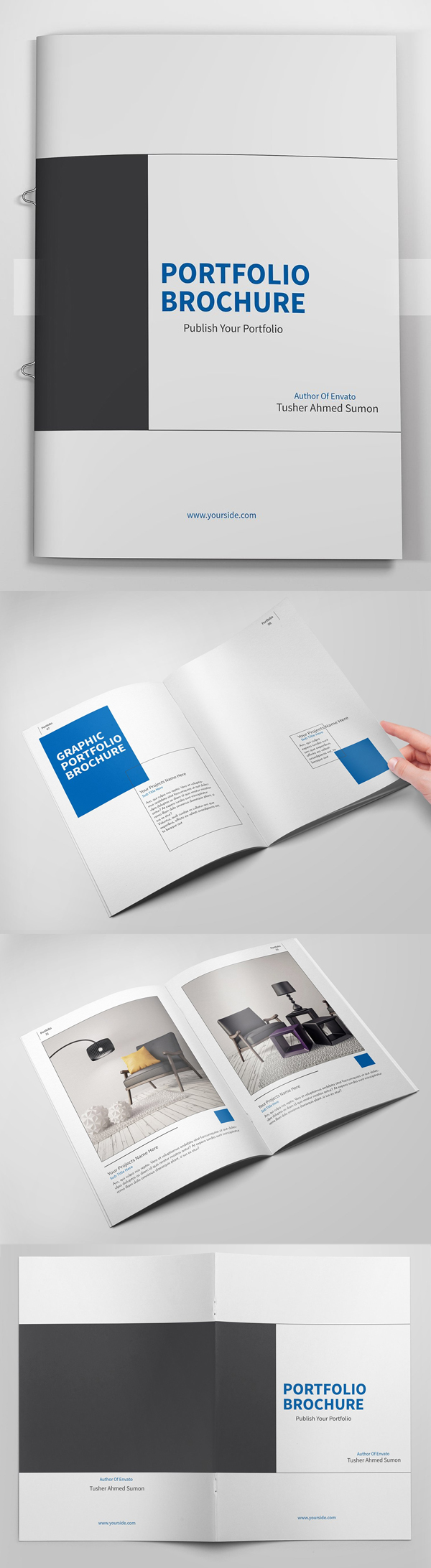 100 Professional Corporate Brochure Templates - 68