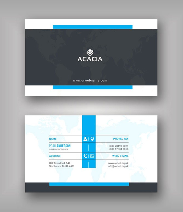 Khel Business Card Template