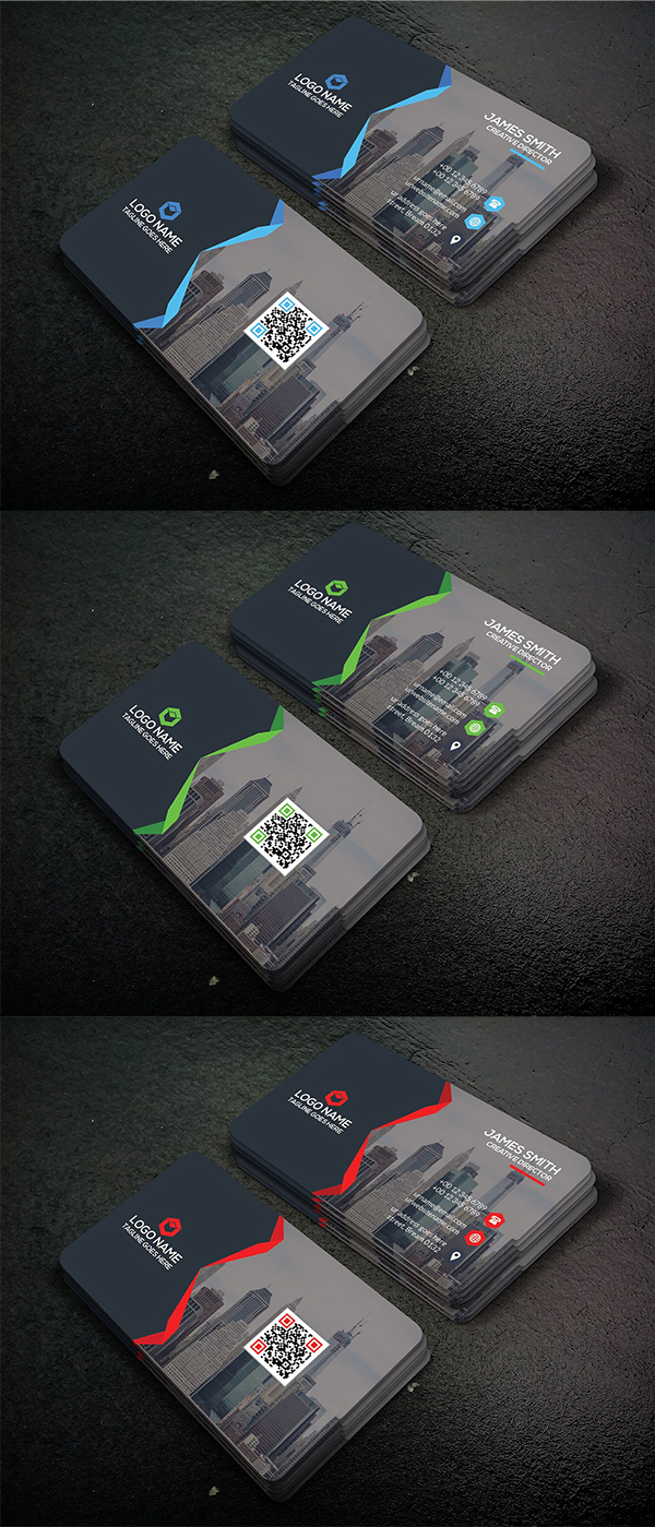 Clean & Creative business card Template