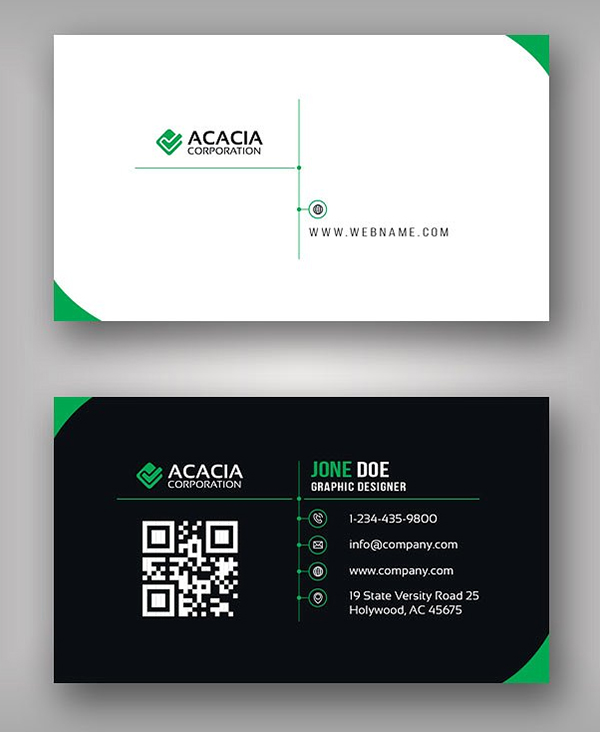 Elegant Business Card Template