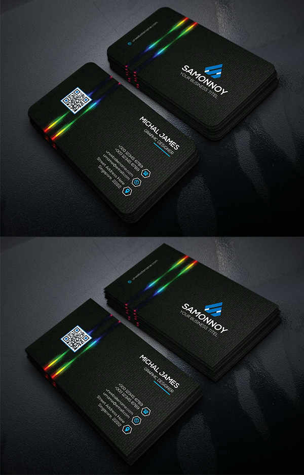 Corporate Business Cards Template Design