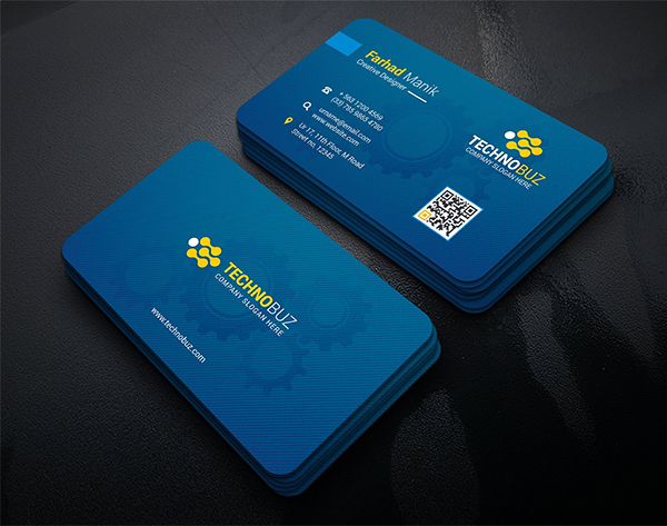 simple & Clean Business Cards Template Design