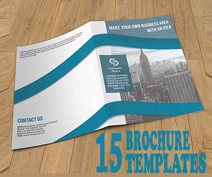 15 Fresh & Creative Multipurpose Brochure Templates
