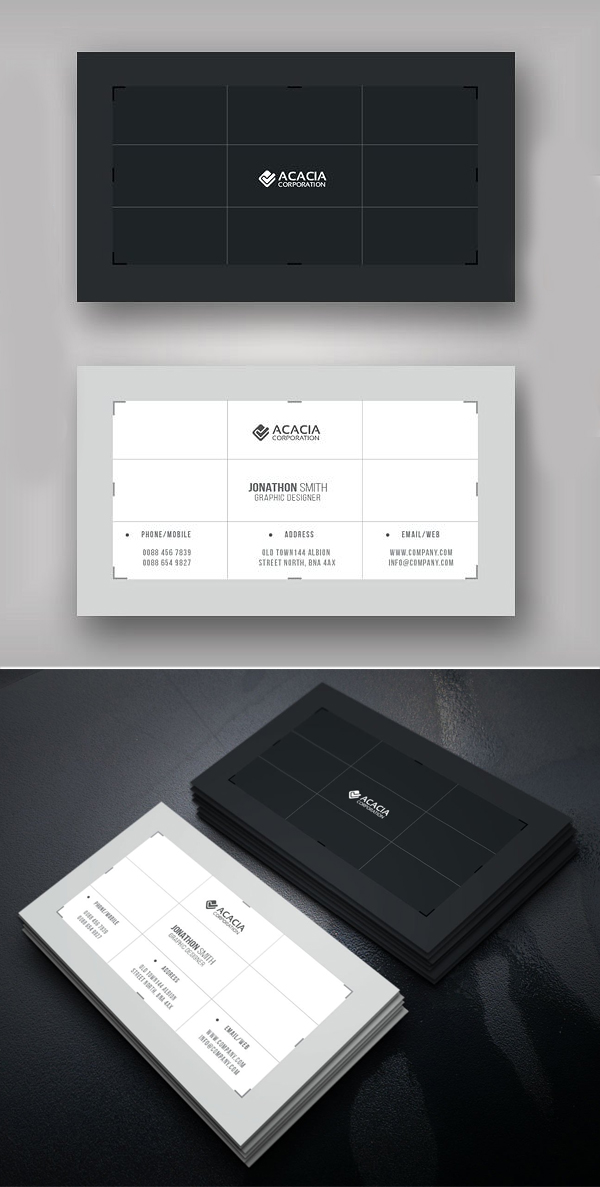 Crop Business Card Template