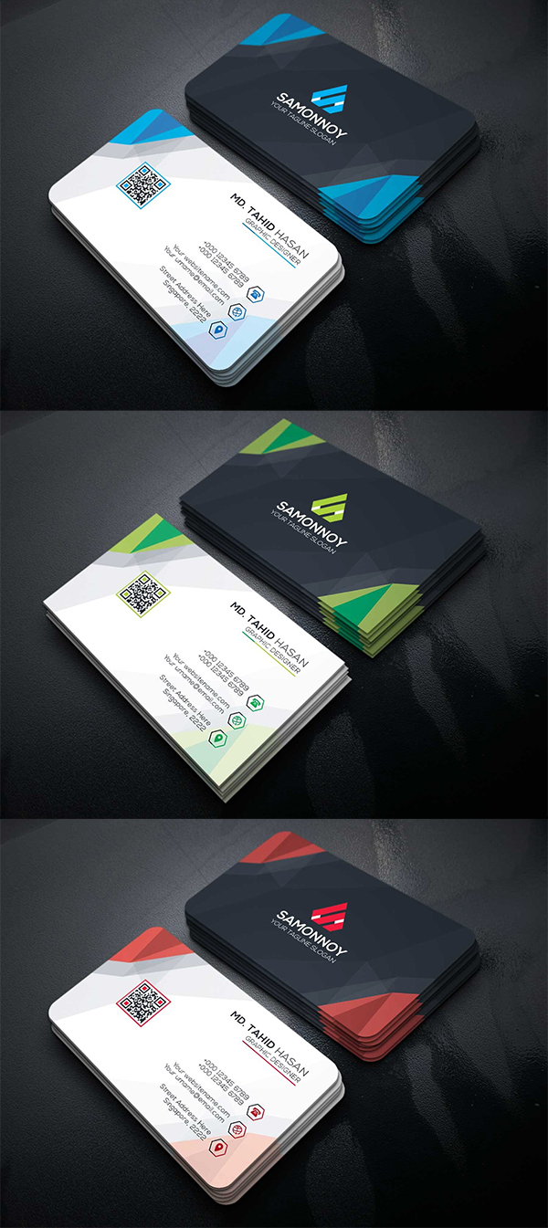 Corporative Business Cards Template