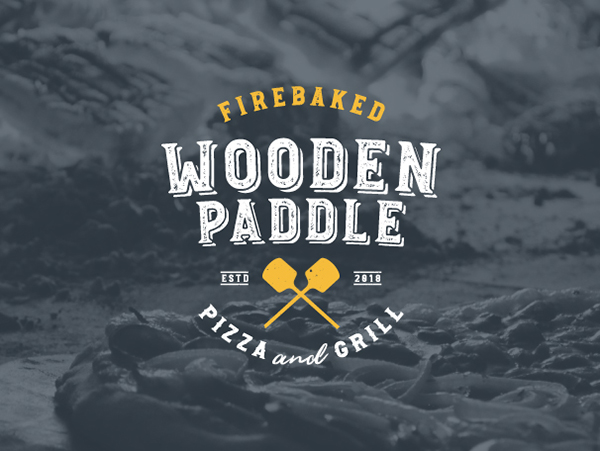 The Wooden Paddle — Logo Concept