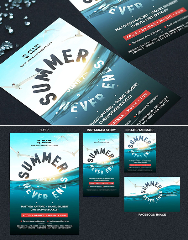 Amazing Summer Flyer Template