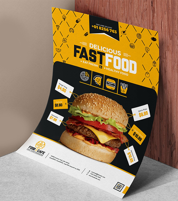 Food / Restaurant Flyer Template