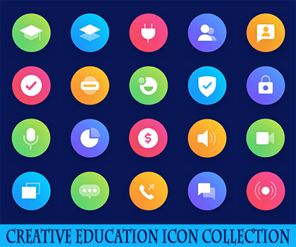 Creative Education Icons For Designers