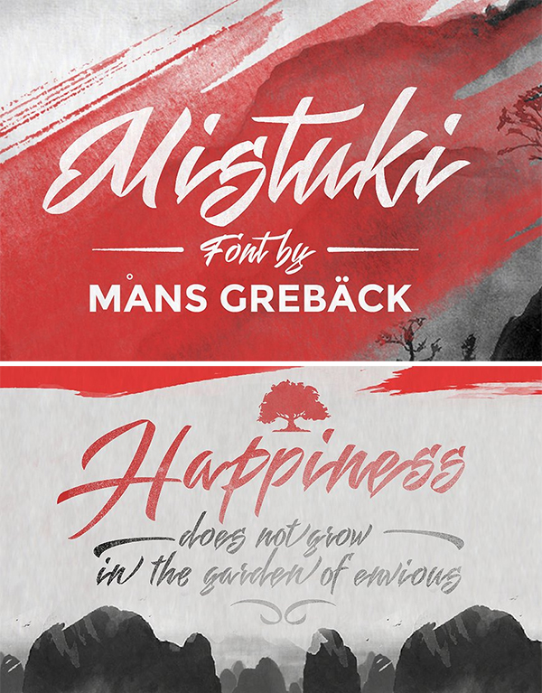 High Quality Mistuki Font