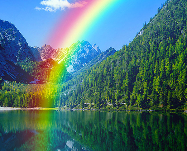 Create Rainbow Photo Effects in Adobe Photoshop