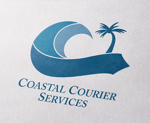 Coastal Courier Services Logo Design
