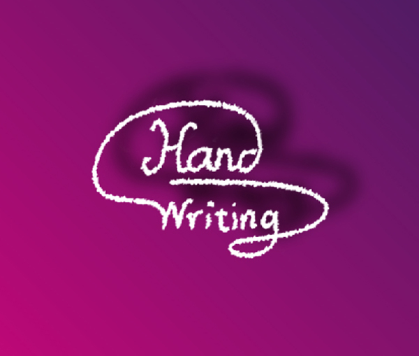 Hand Writing Logo
