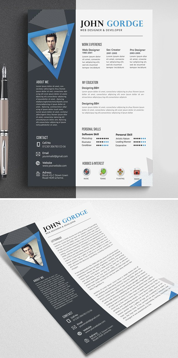Effective Resume / CV Template