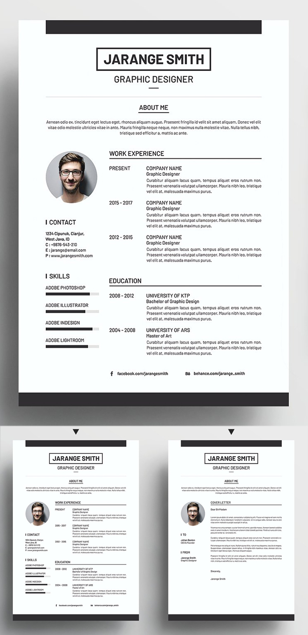 Creative Resume CV Template