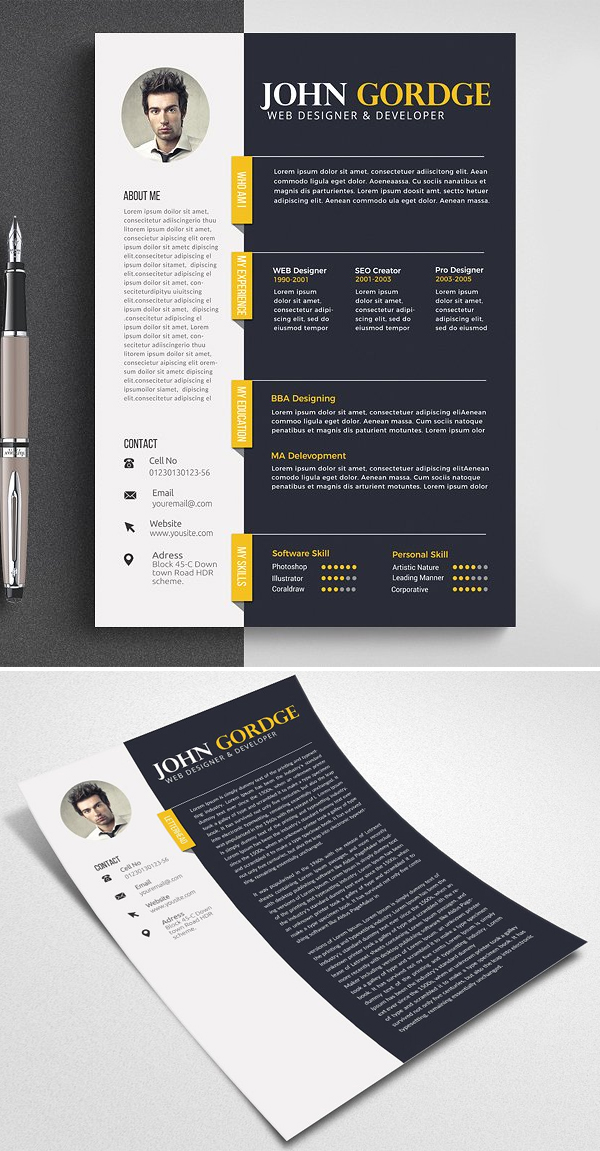 Word Professional Reusme Design