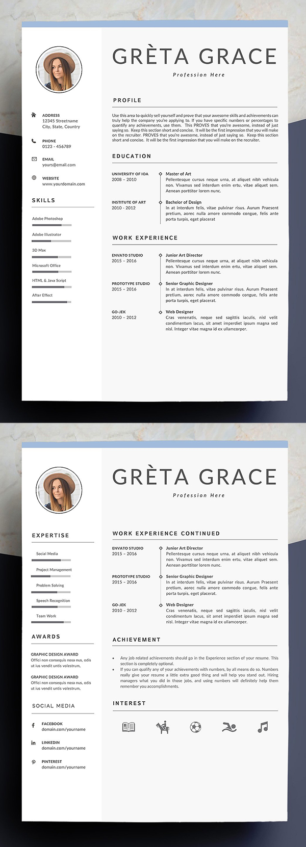 Professional Resume Template | Clove