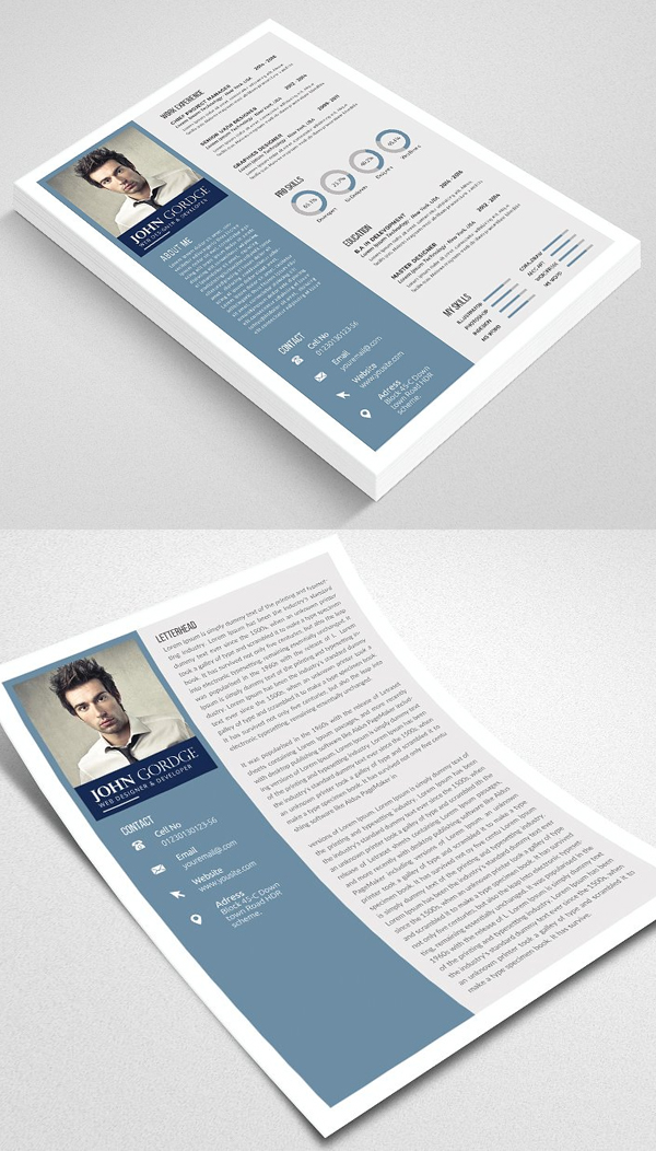 Professional Resume /CV Template