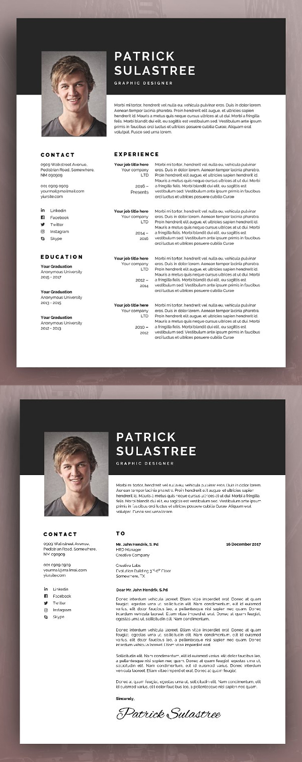 Multipurpose Resume / CV Template