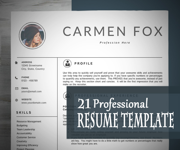 professional+resume+cv+template